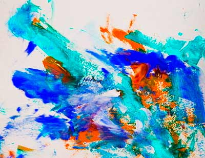 Мазня красками
