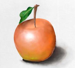 Рисуем яблоко в фотошопе